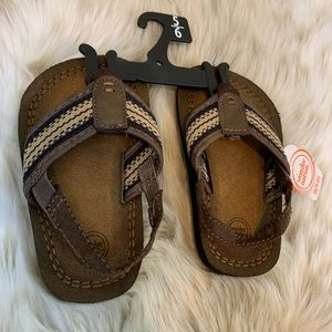 NWT Toddler Sandals Size Small (5-6)